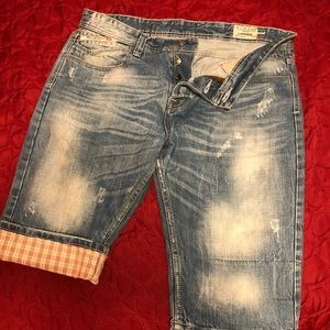 Diesel LARKEE wash 008FR Italy made shorts